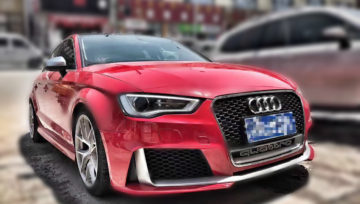 Audi A3 S3 8V to RS3 Front Rear Conversion Group Buy | 2014-2016