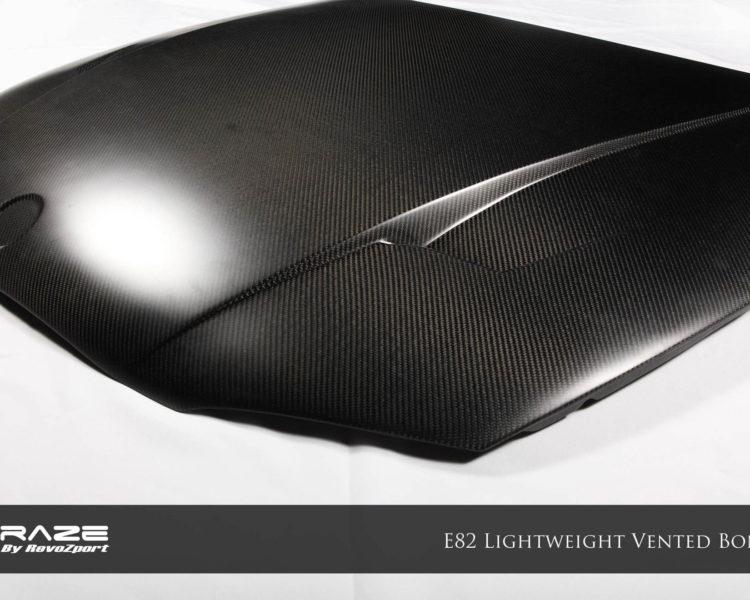 1M Raze Lightweight Bonnet (Single Sided Carbon)