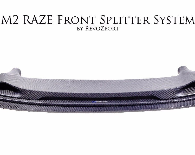 M2 RAZE Front Splitter System with Cooling Duct